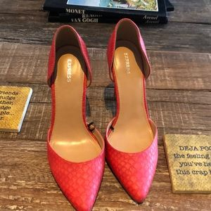 Express Coral Snake Pumps
